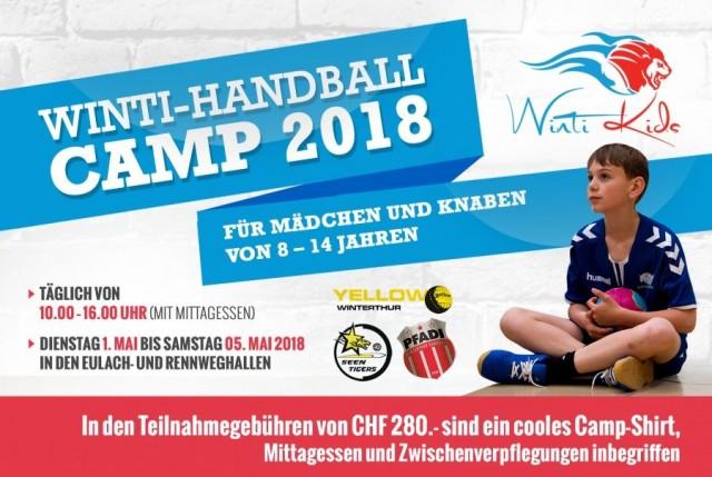 Winti Handball Camp 2018 - Anmeldung