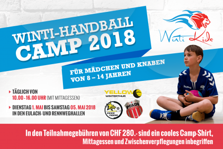 Winti Handball Camp 2018